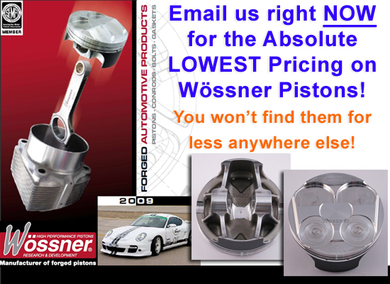 Email Me Lowest Wossner Piston Pricing
